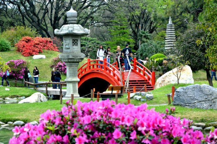 Jardín Japones buenos aires connect