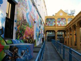 Centro Cultural de Recoleta, patrimoine et Art Contemporain se font de l'oeil...