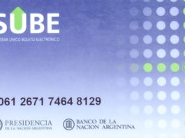 SUBE Buenos Aires