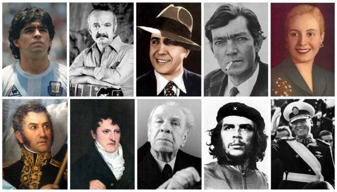 Top 10 personajes Argentina