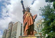 Estatua de la Libertad Buenos Aires