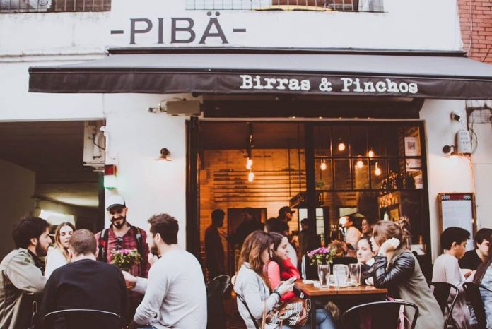 Pibä bar, avenida Cerviño