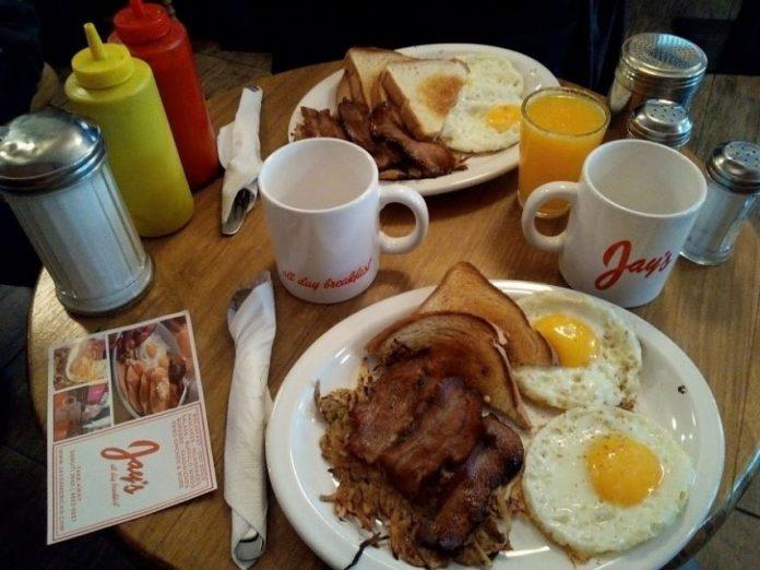 jays americann breakfast