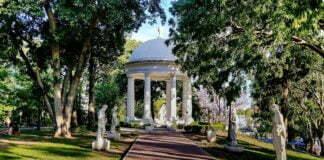 Parque lezama glorieta