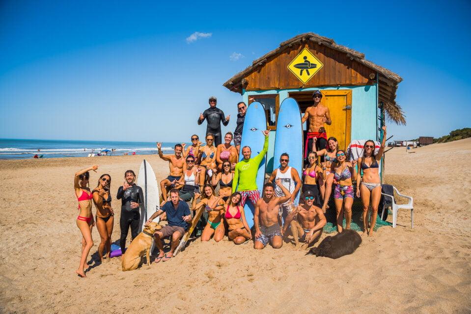 surf yoga trip mar de las pampas