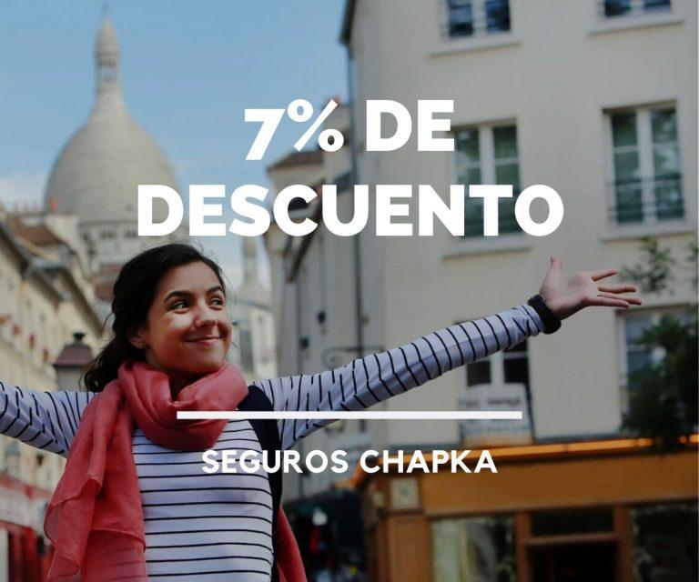 7% de descuento seguro de viaje francia argentina