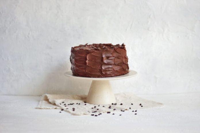 postre torta chocolate