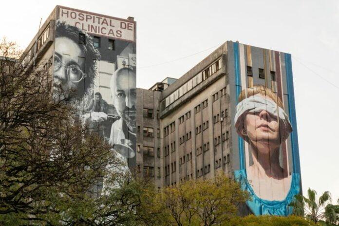 Art des muralistes Martin Ron et Mariela Ajras