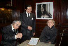 Borges, Gardel, Storni en cafe