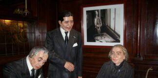 Borges, Gardel, Storni en cafe Tortoni