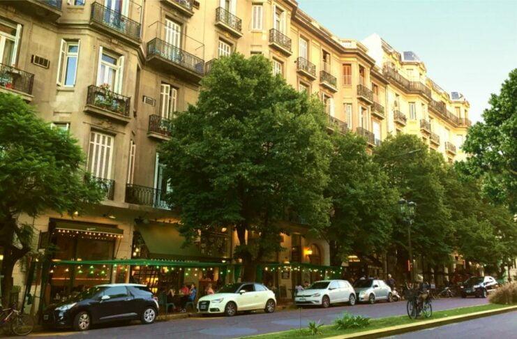 Boulevard Caseros, San Telmo - Barracas