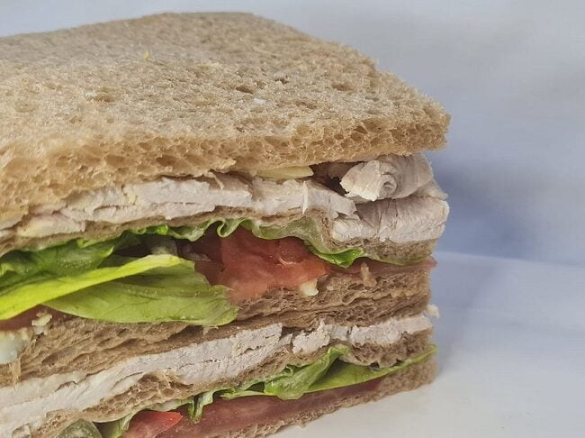sandwich de pain de mie damian sandwich burger