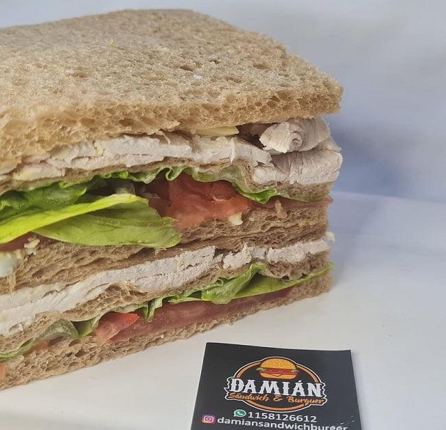 sandwich de miga damian sandwich burger