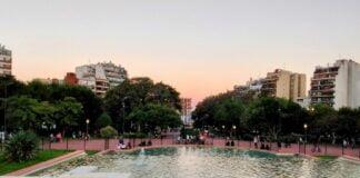 Fontaine du Parque Chacabuco