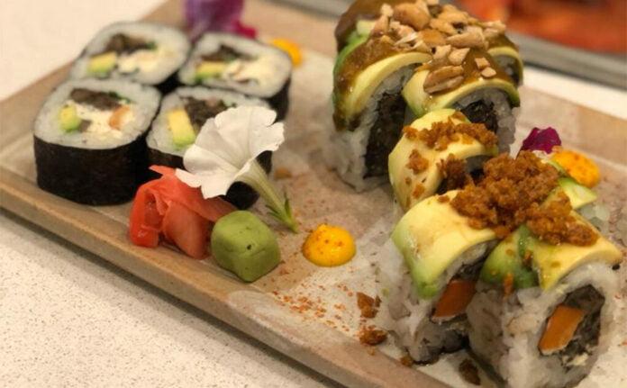 Let it v plant based sushi vegano